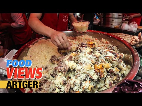 Street Food In China: Amazing Muslim Food Market In Shanghai (Part 1) Best Pilaf In Town