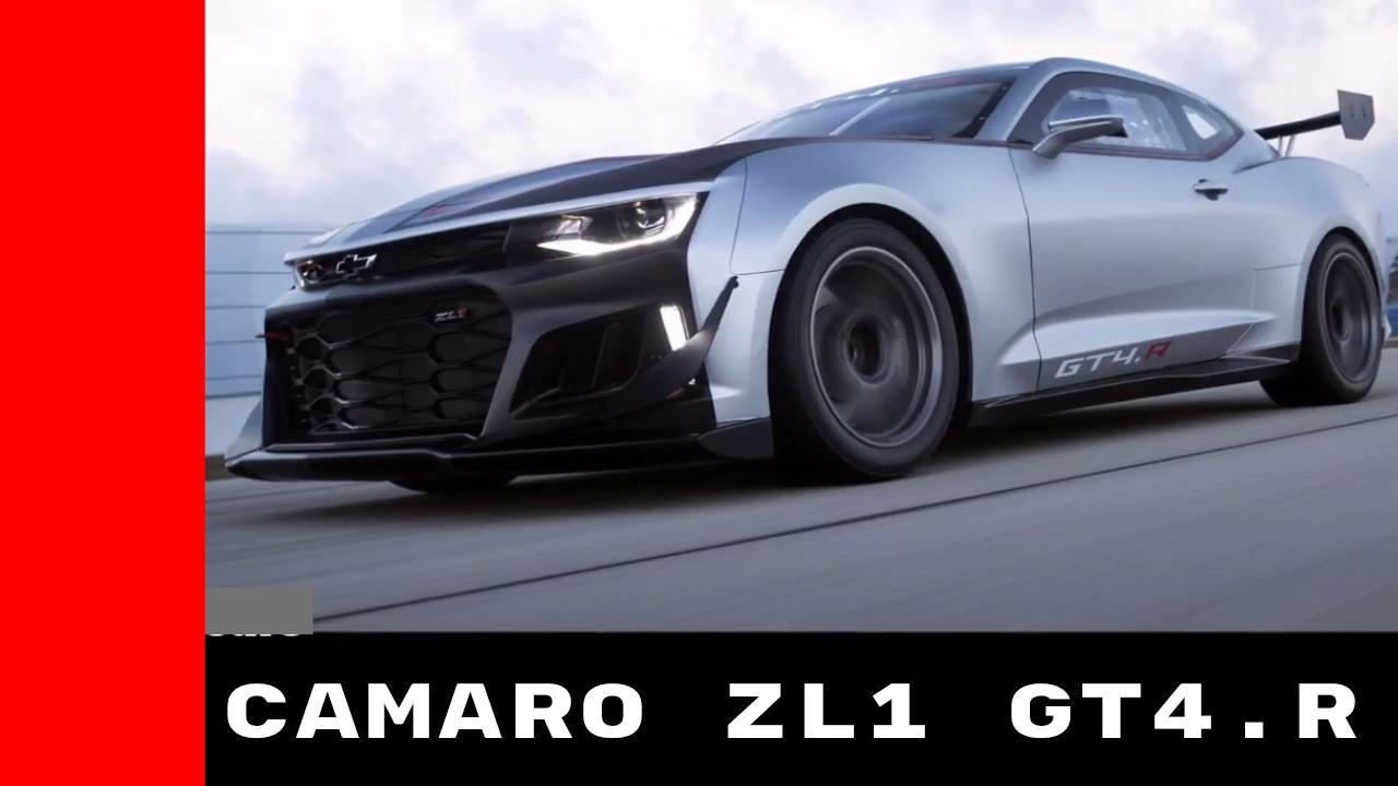 Camaro Gt4r >> Chevy Camaro ZL1 Based GT4.R - YouTube