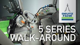 Deutz-Fahr 5 Series Tractor Walk-around