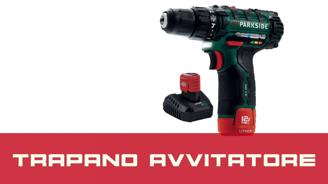 Avvitatore parkside la recensione youtube for Parkside avvitatore