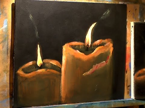 Beginners Acrylic Candles - Full Lesson