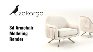 3d Sofa and Armchair Modeling I #2