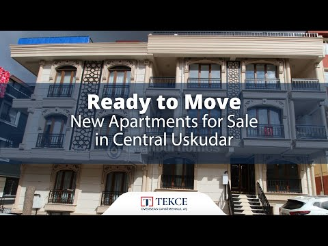 Ready to Move New Apartments for Sale in Central Uskudar   Istanbul Homes ®
