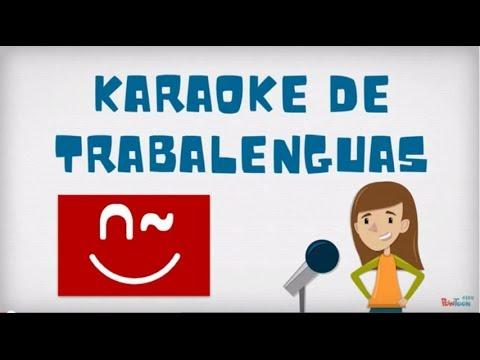 Karaoke de trabalenguas youtube - Karaoke en casa ...