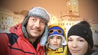 Piata Sfatului si Biserica Neagra... iarna, noaptea