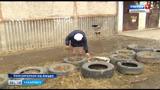 Досрочный субботник в Комсомольске