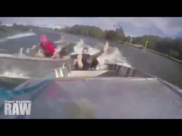 Boats Collide || Tinny Bashing RAW