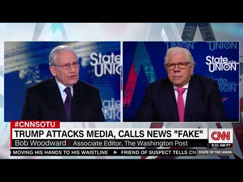 Bob Woodward warns against 'smugness' of journalists covering Trump