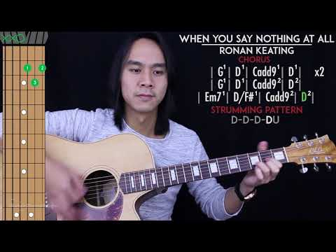 When You Say Nothing At All Guitar Cover Acoustic - Ronan Keating 🎸 |Tabs + Chords|