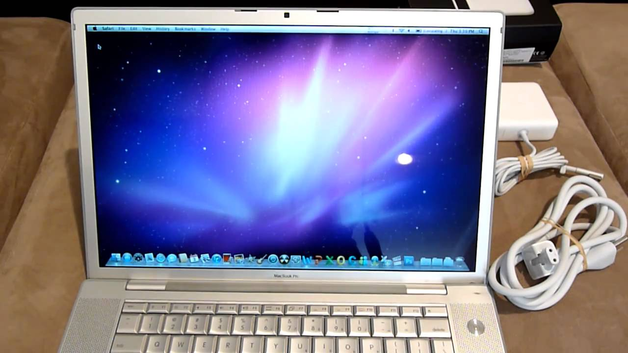 15 U0026quot  Apple Macbook Pro 2 2ghz Core 2 Duo 2gb Glossy Dvd