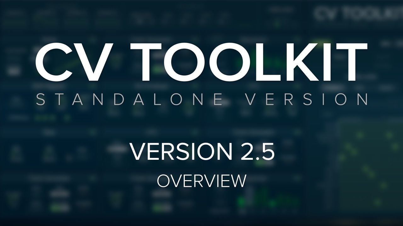 MUFF WIGGLER :: View topic - CV Toolkit 2 8 - Now available!