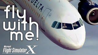 Microsoft Flight Simulator X - A320 to ATL