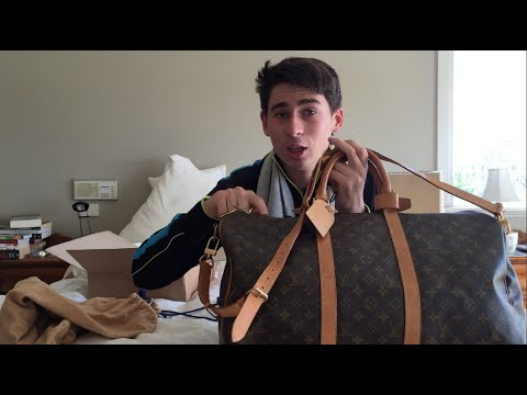 b2a4d5d70ac9 Louis Vuitton Monogram Keepall 50 Bandouliere - REVIEW - YouTube