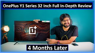 OnePlus Smart TV Y1 Series 32 inch Model 4 Months Later Review   Good On Paper