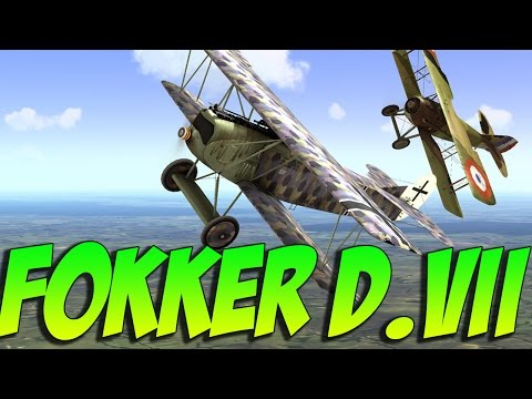 Rise Of Flight! Fokker D.VII - German Dogfighter! Rise Of Flight Gameplay