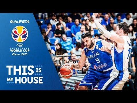 Israel v Greece – Highlights – FIBA Basketball World Cup 2019 – European Qualifiers