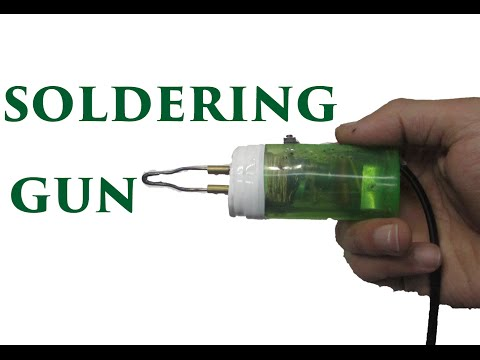 How to make an instant heating soldering iron