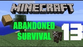 "Minecraft: ""MOBS GIVE US STRING; WE CAN SLEEP"" - Abandoned Survival Island 