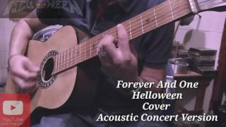 Forever And One Cover Acoustic Concert Version Helloween Sub Español