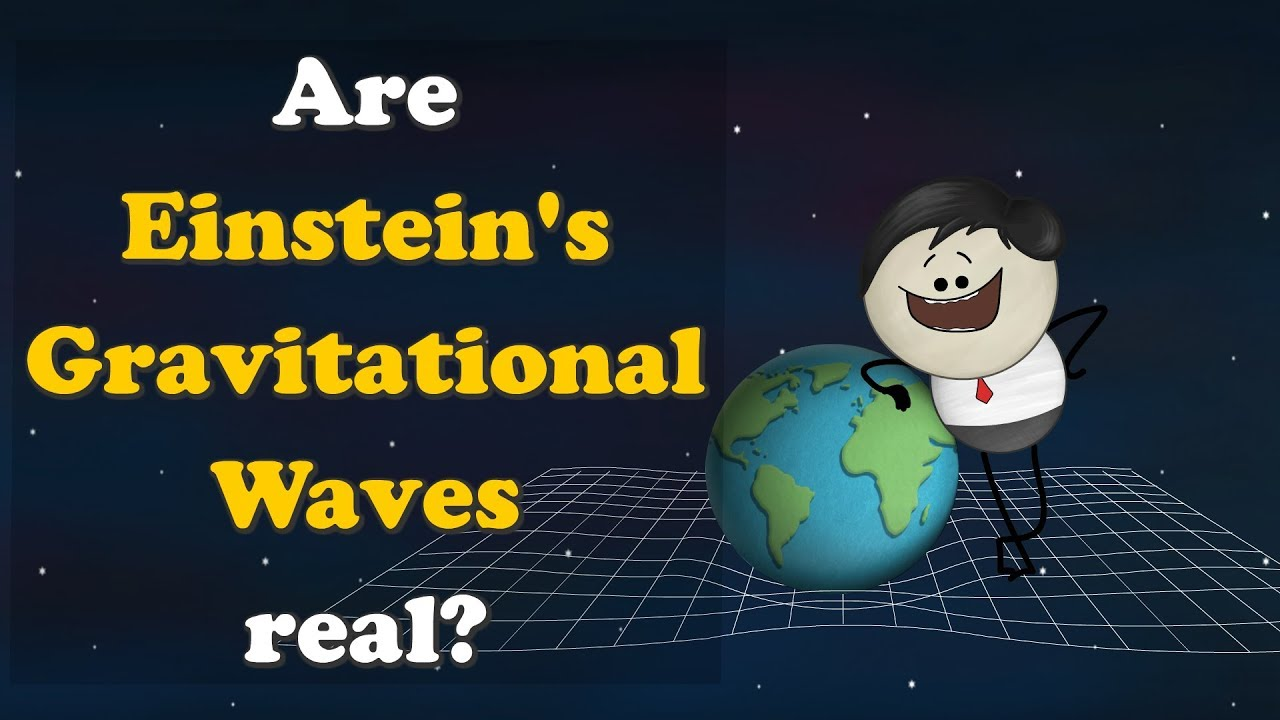 Are Einstein's Gravitational Waves real? + more videos | #aumsum #kids #science #education #chi