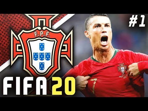 FIFA 20 Portugal Career Mode EP1 - RONALDO'S LAST WORLD CUP BEGINS!!