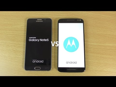 Moto X Style (Pure) VS Note 5 - Speed & Camera Test!