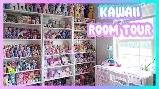 KAWAII ROOM TOUR: Toy room / office / filming room set up!
