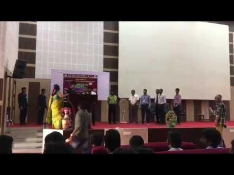 Second prize in Shortfilm Contest in Ramachandra Engineering College