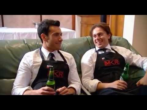SA Contestants Nic and Rocco from 'My Kitchen Rules'