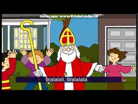 Sinterklaasliedjes van vroeger - Jongens, heb je 't al vernomen? Sinterklaas is aangekomen