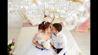 Свадебная фотосессия в интерьерной студии Кривого Рога - wedding photo