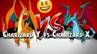 Charizard Y vs brilhante Charizard X!? | Roblox | Pokemon tijolo bronze-Part104
