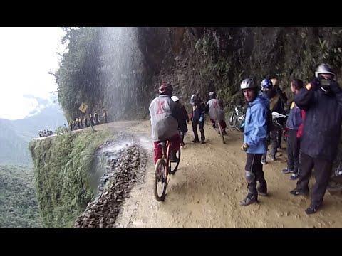 Biking Down The DEATH ROAD In Bolivia (GoPro Hero 3)