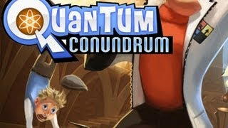 CGRundertow QUANTUM CONUNDRUM for PC Video Game Review