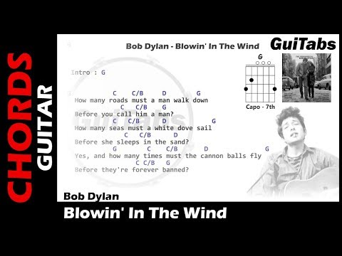 8.9 MB) Blowin In The Wind Chords - Free Download MP3