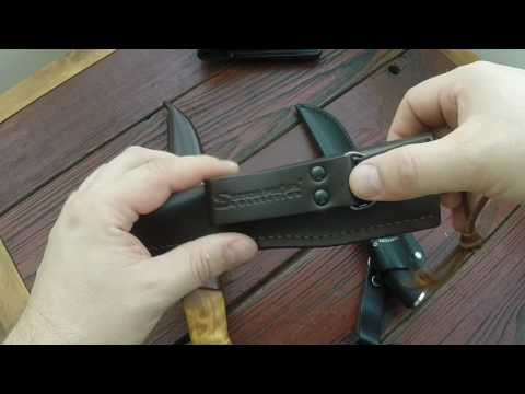 Кожаные ножны от Stich Profi
