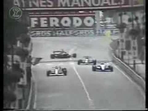 1989 - Birmingham Superprix - Lehto and Comas accident