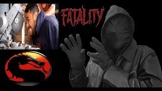 Real Life Mortal Kombat Fatalities! REACTION!!! (STD)