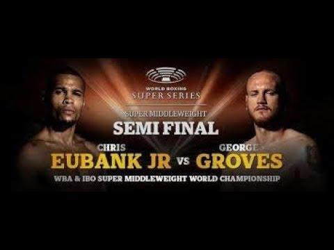 GEORGE GROVES VS CHRIS EUBANK JR LIVE AUDIO COMMENTARY