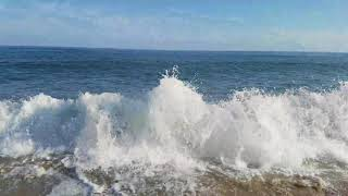 Cape May Beaches - waves breaking on the Jersey Shore
