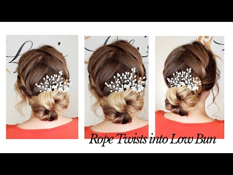 rope-twists-into-low-bun-tutorial-by-lilly's-hairstyling