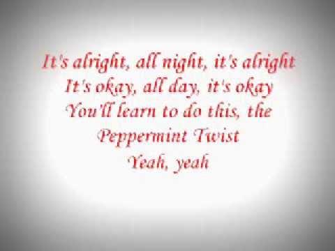 Joey Dee & The Starliters- Peppermint Twist / With Lyrics