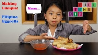 How to Make Lumpia: Filipino Egg Rolls | Thanksgiving Recipe | Full-Time Kid | PBS Parents