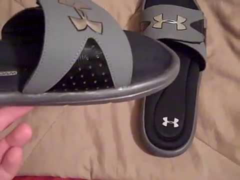 detailed pictures af799 ea1c0 Under Armour Ignite 4 Slides Review