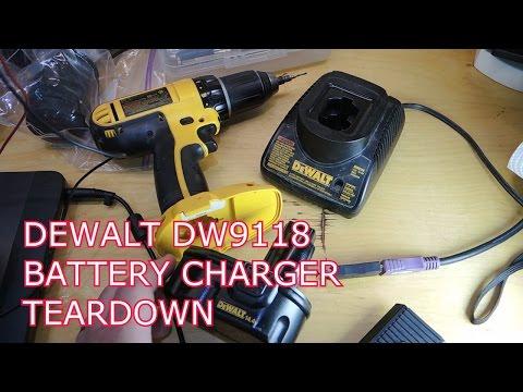 Teardown of a DeWalt DW9118 7.2V – 14.4V Battery Charger ... on