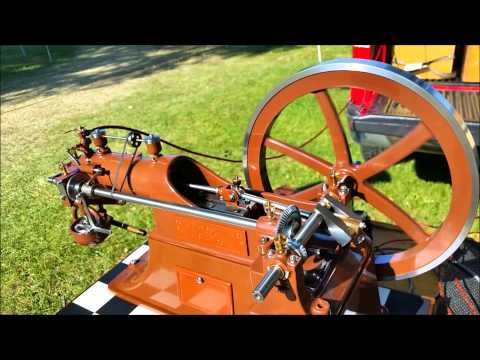 Model Steam and Gas Engines at Rough and Tumble Show 2015 in Kinzers, PA