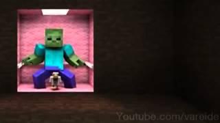 Zombie Style Minecraft - Top 10 Minecraft Parody Hunger Games 2015