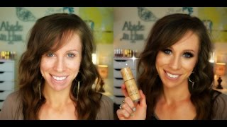 New Laura Gellar Baked Radiance Foundation Review & Demo
