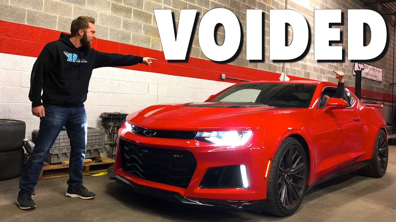 He Voided The Warranty On My 2017 Camaro Zl1