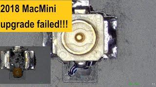 2018 MacMini RFConnector broke…